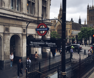 london, underground, and love image