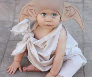 dobby, baby, and harry potter image