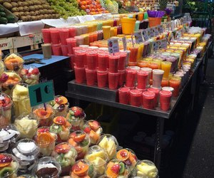 food, fresh, and juice image