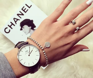 accessories, watch, and coco chanel image