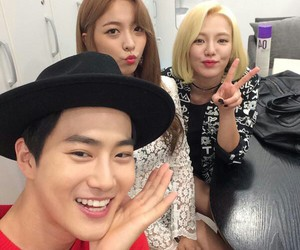 exo, snsd, and suho image