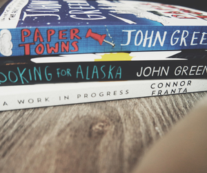 books, collection, and john green image