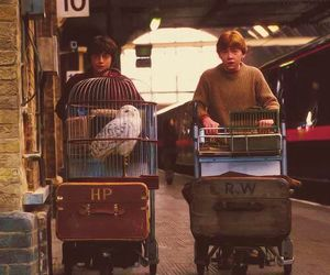 friendship, first day, and harry potter image