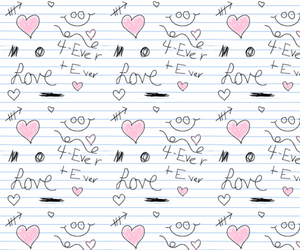 colorful, girly, and hearts image