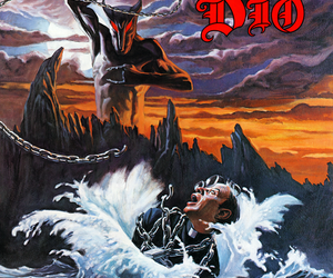 album cover, demon, and hard rock image