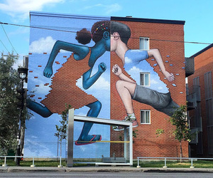 art and street image