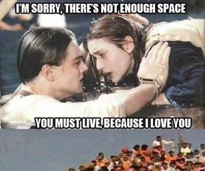 titanic, funny, and lol image