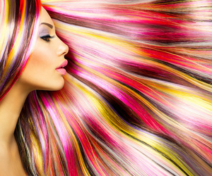 hair, hair extensions, and hair beauty image