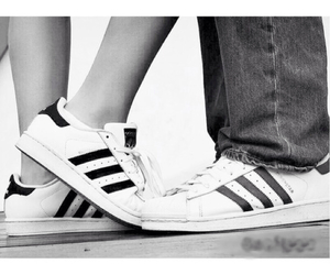 goals, adidas, and couple image