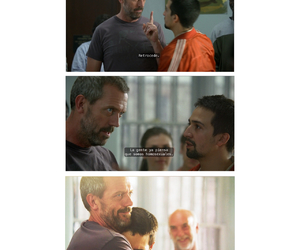 Dr. House and hugh laurie image