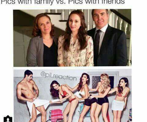 pll, pretty little liars, and family image