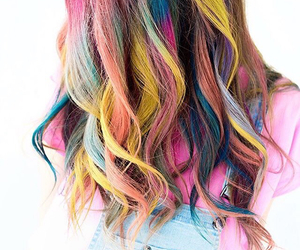 bright, fashion, and hair image