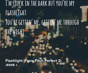 flashlight and pitch perfect 2 image