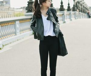 kfashion and leather jacket image