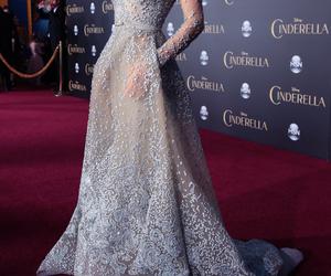 dress, beautiful, and cinderella image