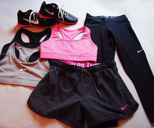 nike, fit, and workout image