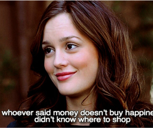 gossip girl, blair waldorf, and money image