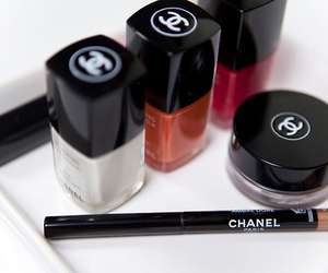 chanel, nail polish, and cosmetics image