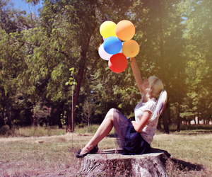 amazing, baloons, and colour image