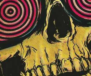 skull, illustration, and art image