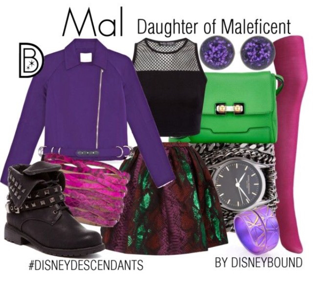Mal Inspired Outfit Uploaded By Anabel On We Heart It