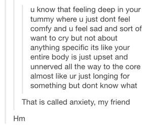 anxiety, cry, and feelings image