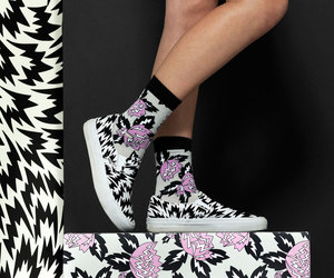 fashion, patterns, and shoes image