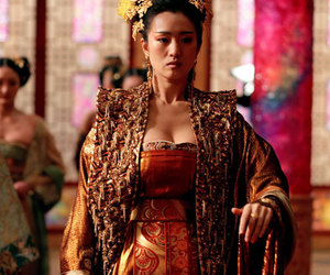 gong li, Queen, and curse of golden flower image
