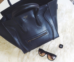 bag, celine, and chanel image