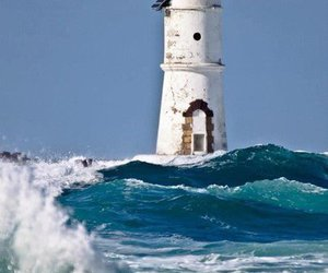 lighthouse, wallpaper, and nature image