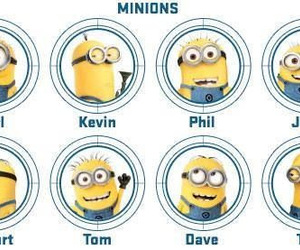 minions, despicable me, and kevin image