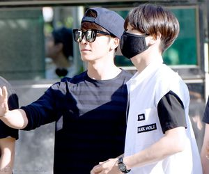 donghae, eunhyuk, and handsome image