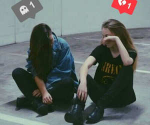 crying, girl, and grunge image