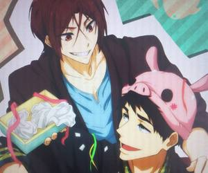 free, sousuke, and sourin image