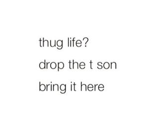 funny, hug, and thug image