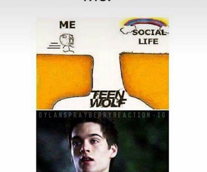 teen wolf, funny, and liam dunbar image