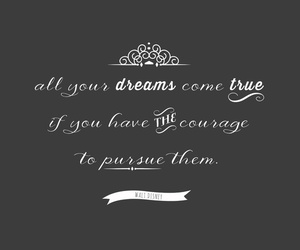 black and white, courage, and dreams image