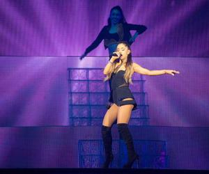 Queen, the honeymoon tour, and ariana grande image