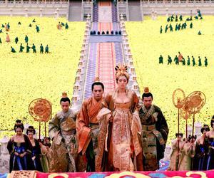china, costume, and gong li image