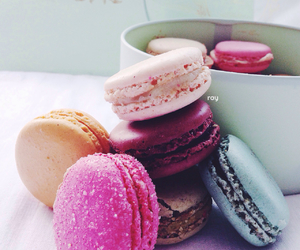 ‎macarons, delicious, and food image