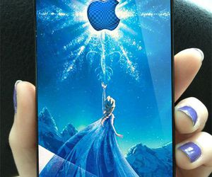 elsa and phone case image