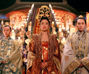 Queen, curse of golden flower, and gong li image