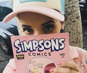 melanie martinez, simpsons, and melanie image