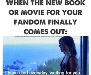 book, fandom, and movie image