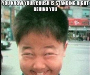 funny, crush, and lol image