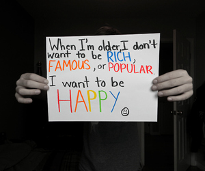 :), famous, and happiness image