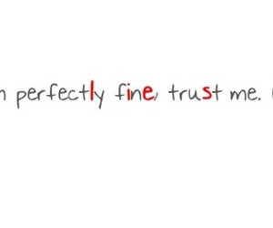 lies, fine, and quote image