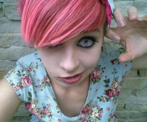 pink hair, scene model, and scene queen image