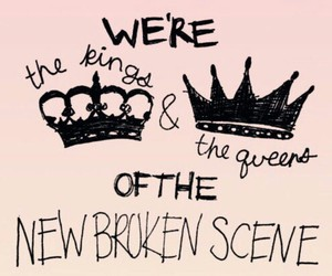 5sos, she's kinda hot, and new broken scene image