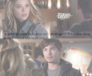 coffee, pretty little liars, and start over image